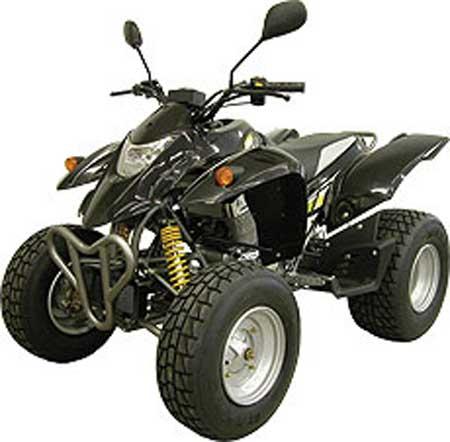 Utstyr til ATV