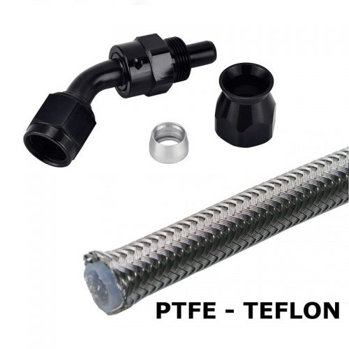 AN-slange og koblinger (teflon)